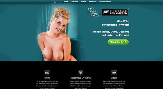 Gina Wild, Pornos, Pornostar, Dating Kontakte