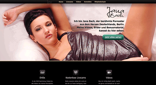 Pornostar, Jana Bach - Video, DVD, Kostenlos Livecam, XXX & XXL Bonusmaterial